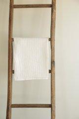 【fog linen work】リネンワッフルタオル L ホワイト