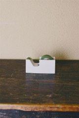 【倉敷意匠計画室】白磁 テープカッター S